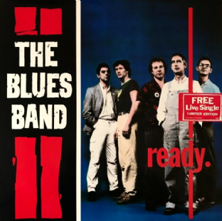 "Blues Band (The) ‎- Ready (LP + 7"") (EX/VG)"
